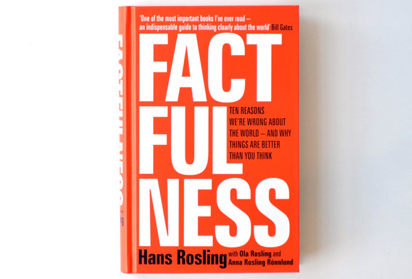 Factfulness, av Hans Rosling